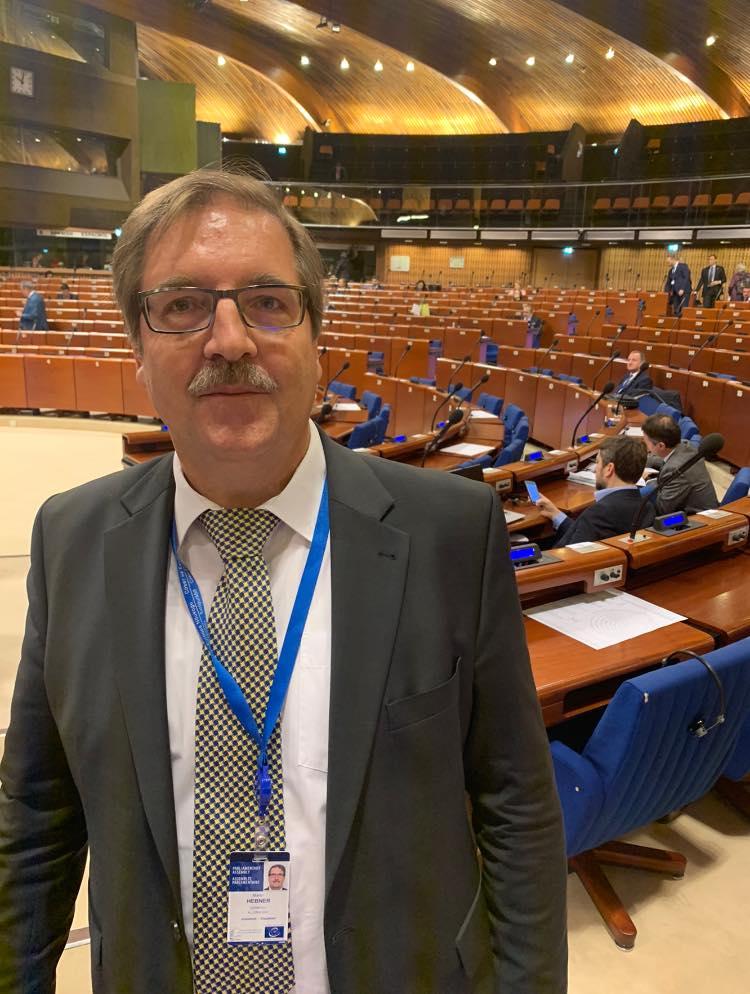 Martin Hebner - Europarat Strassburg